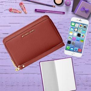 MICHAEL Michael Kors Adele Large Phone Case Wallet